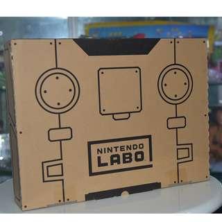 (全港獨家) Nintendo Switch LABO - Robot Kit 機械人套裝 (日本Amazon網上限定版) -包紙箱人阿愣獨有配件