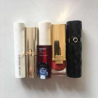 Take All Lipsticks