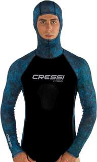 *BN* Cressi Cobia hooded diving Rashguard