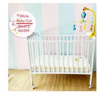 Baby Cot (Baru) / Katil bayi