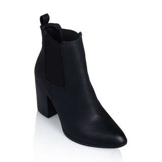 black billini jaida ankle boots
