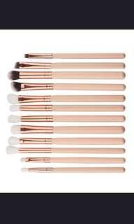 12 pcs brush set!