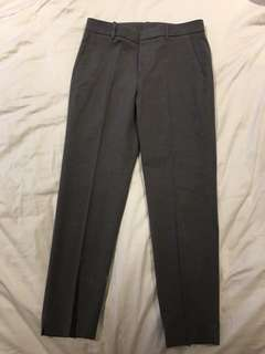 Uniqlo Grey Tapered Trousers