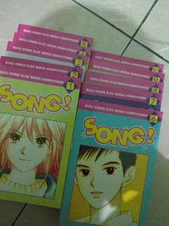 Komik Song - Completed series No. 1-10
