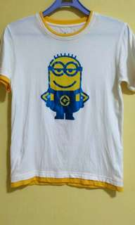Univeral Studios Singapore (USS) Despicable Me ~ Minion Boy's T-shirt (Size: M)