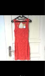 pink dress (pull&bear)