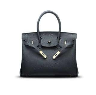 Genuine Leather Birkin Bag