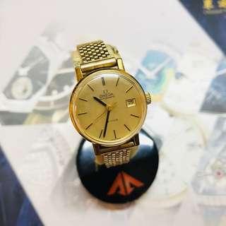 Omega 自動古董腕錶