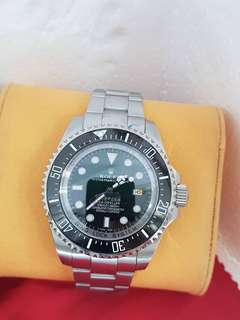 Rolex Deepsea Dweller sapphire glass