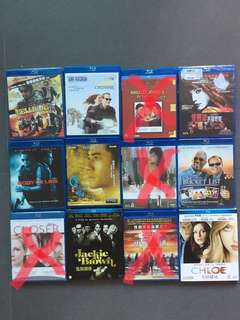 Blu ray movies (中文字幕)
