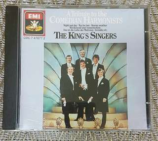 The Tribute to the  Comedian Harmonists - The King's Singers CD