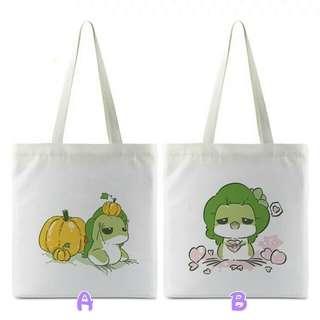 旅行青蛙帆布袋(需要訂)