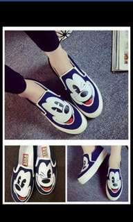 mikey mouse shoe