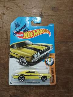 Hotwheels MOONEYES dodge charger 500