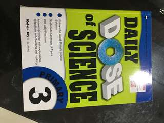 Daily dose Science primary 3