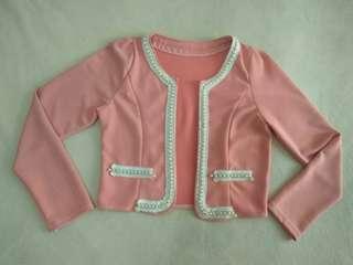 preloved blazer pink