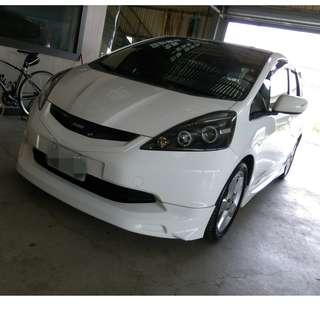 2009年 FIT 白色頂級  有包     大桃園優質二手中古車買賣