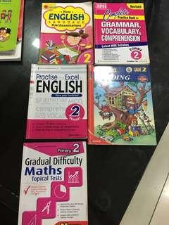 Primary 2 English, Math