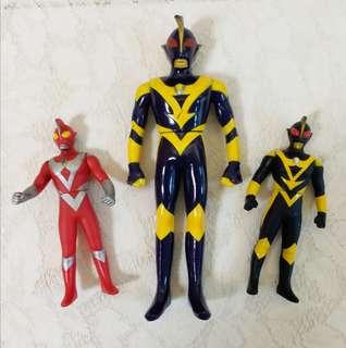 Ultraman 鹹蛋超人 一套 $30 只限太古交收