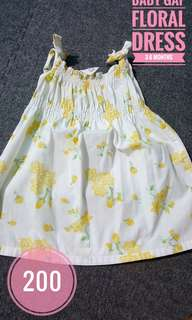 Baby Gap Floral Dress