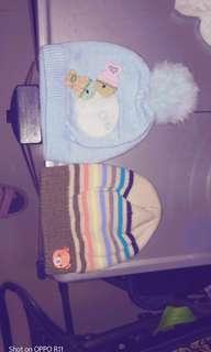 出生兒針織帽