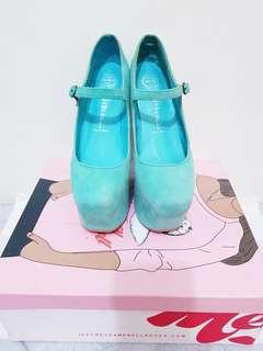 Leftfoot - Turquoise unique shoes