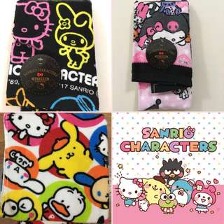 Authentic Japanese Sanrio Characters Baby Towels