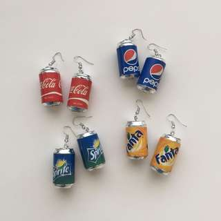 MINI COLE BOTTLE EARRINGS
