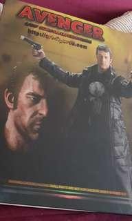 Art figures Avengers