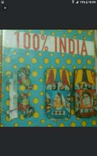 Art And Graphic Design   100 Percent India  Catherine Geel Catherine Levy  Hardcover  Pick Up Buangkok Hougang Mrt