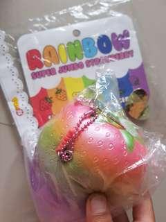 Punimaru jumbo rainbow strawberry