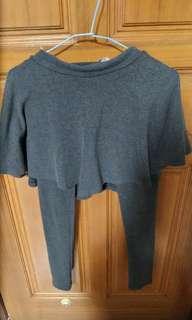 深灰色內搭褲裙
