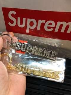 Supreme 2018 最新 bling bling 匙扣