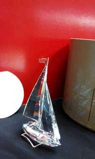 Swarovski Crystal 水晶風帆船Sail Boat