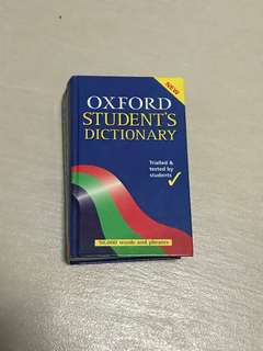 Oxford Student's Dictionary (Hard Cover)