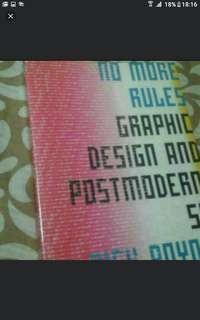 Art And Design  No More Rules  Graphic Design And Post Modernism  Rick Poynor  Pick Up Hougang  Buangkok Mrt