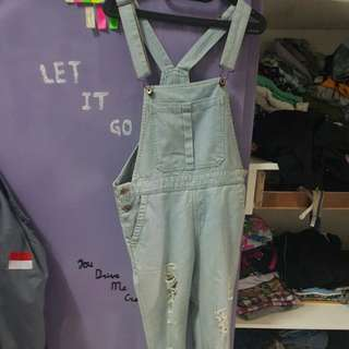 Overall Ripped Jeans Colorbox