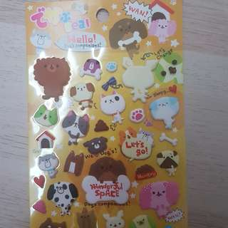 [REDUCED] Dogs Sticker