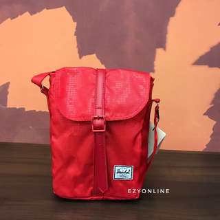 Original Herschel Sling Bag Red Printed