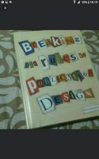 Art And Design   Breaking The Rules Of Publication Design  Hardcover   Pick Up Hougang Buangkok Mrt