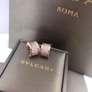 18k金鑽石耳環