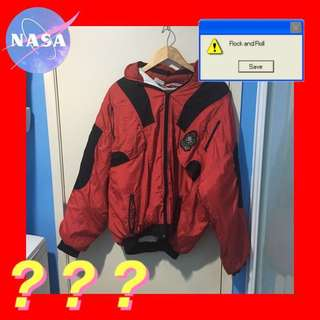 athletica red vintage jacket