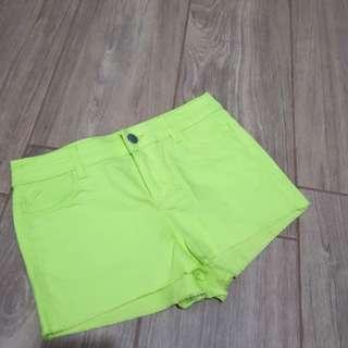 H&M Neon Shorts