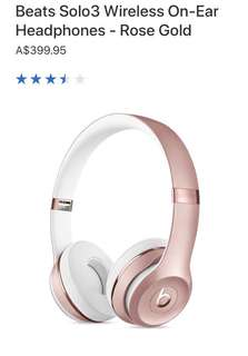 Beats by Dre - Rose Gold