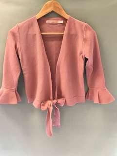 Pink Cardigan 👗買2件減$10👗Buy 2 items -$10👗