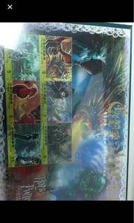 哈利波特電影郵票(內約有50元郵票