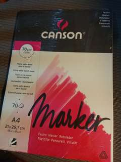 CANSON A4 Marker Pad-70gsm / calligraphy