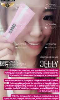 [BUY2, FREE1] WoWo Moshu Cubilose Collagen Jelly