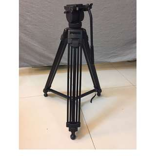 Pearstone Tripod with dolly Wheels