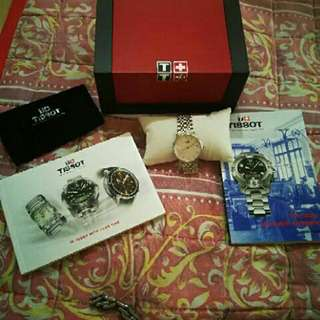 Tissot watch for her BRAND NEW hulugan